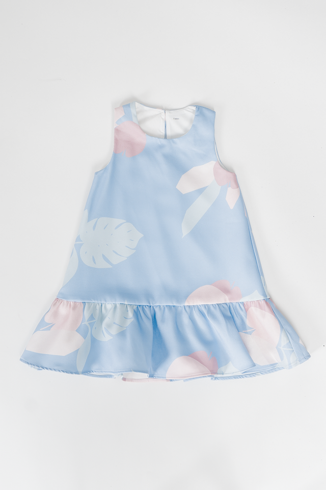 APPLE OF MY EYE DRESS (BLUE)